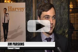 BWW TV: Jim Parsons and the Cast of HARVEY Reflect on Opening Night!