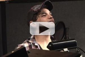 STAGE TUBE: NEWSIES' Alan Menken and Jeremy Jordan Recording 'Santa Fe' Bonus Track!