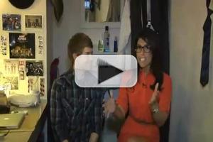 STAGE TUBE: Andrew Keenan-Bolger and Kara Lindsay Backstage at NEWSIES
