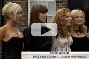 STAGE TUBE: Inside the VIVA FOREVER! Announcement with the Spice Girls