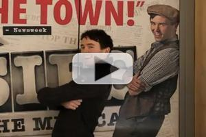 STAGE TUBE: Meet NEWSIES' 'Albert,' Garett Hawe!