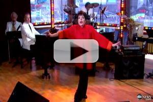 STAGE TUBE: Liza Minnelli Sings 'New York, New York' on GOOD AFTERNOON AMERICA