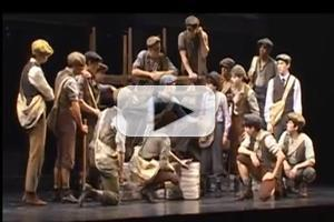 STAGE TUBE: Look Back at Paper Mill Playhouse's 2011-12 Season - NEWSIES, ONCE ON THIS ISLAND and More!
