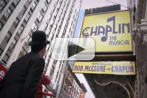 STAGE TUBE: Rob McClure Visits Times Square as CHAPLIN!