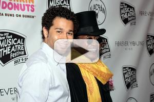 BWW TV: Randy Rainbow Visits the 2012 NYMF Gala- Vereen, Bleu and More!