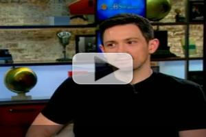 STAGE TUBE: ONCE Stars Kazee, Milioti Appear on 'CBS This Morning'