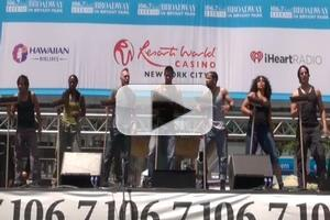 BWW TV: STOMP Performs at Broadway in Bryant Park 2012!