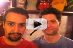 STAGE TUBE: Lin-Manuel Miranda and Tom Kitt Greet BRING IT ON Fans!