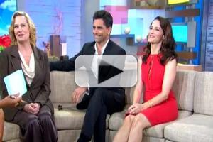 STAGE TUBE: Stamos, Davis, Shepherd Chat BEST MAN on GMA