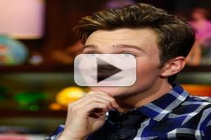 STAGE TUBE: GLEE's Chris Colfer Guests on 'WATCH WHAT HAPPENS'