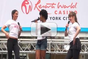 BWW TV: SISTER ACT Performs at Broadway in Bryant Park 2012!