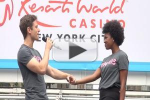 BWW TV: MEMPHIS Performs at Broadway in Bryant Park 2012!