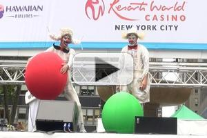 BWW TV: ZARKANA Performs at Broadway in Bryant Park 2012!