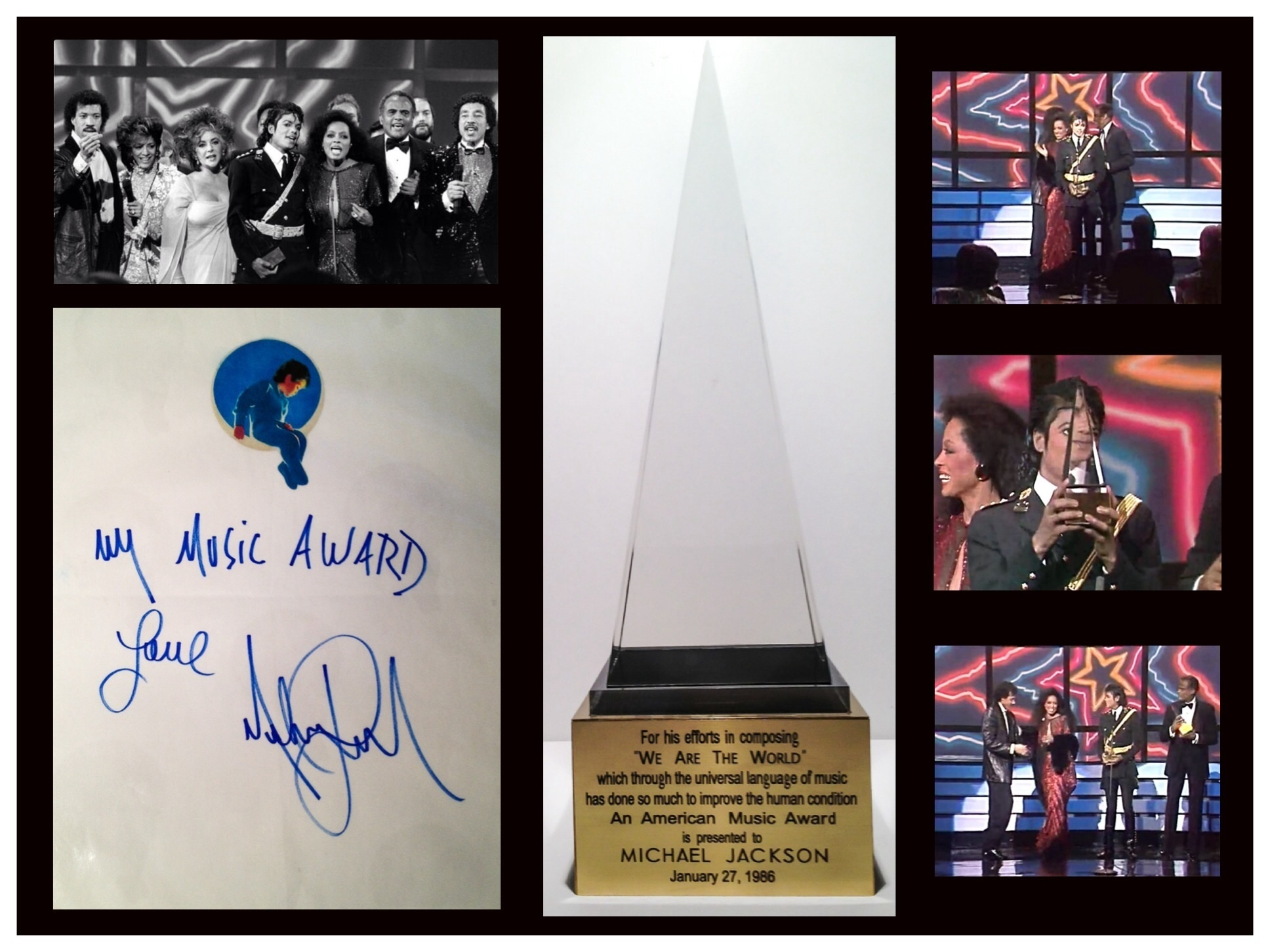 Michael Jacksons American Music Award & Victory Tour Glove Up for Auction