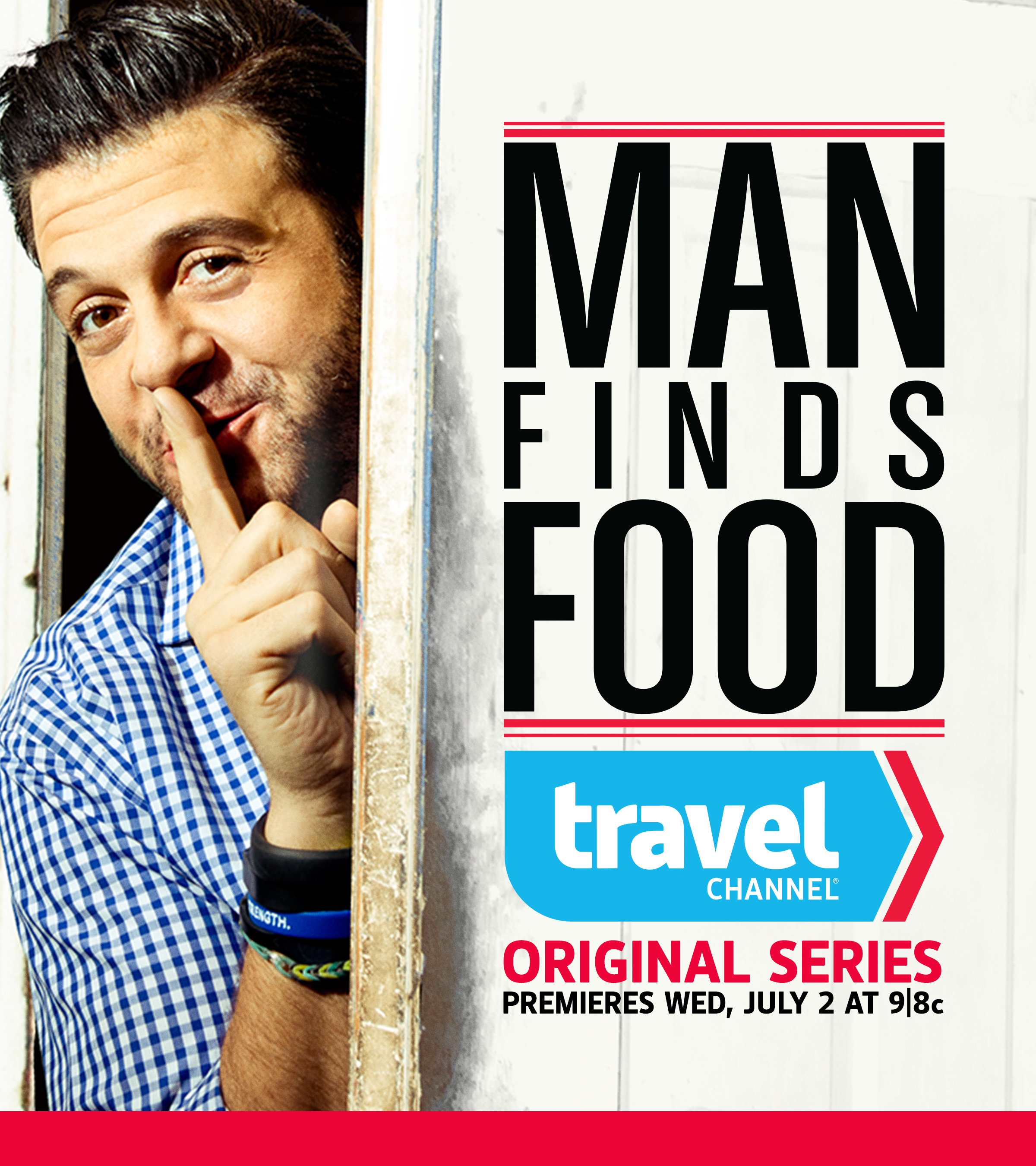 Travel Channel to Premiere Adam Richman's New Series MAN FINDS FOOD, 7/2