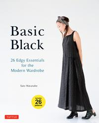Sato Watanabe Releases Japanese Sewing Title, Basic Black, in English