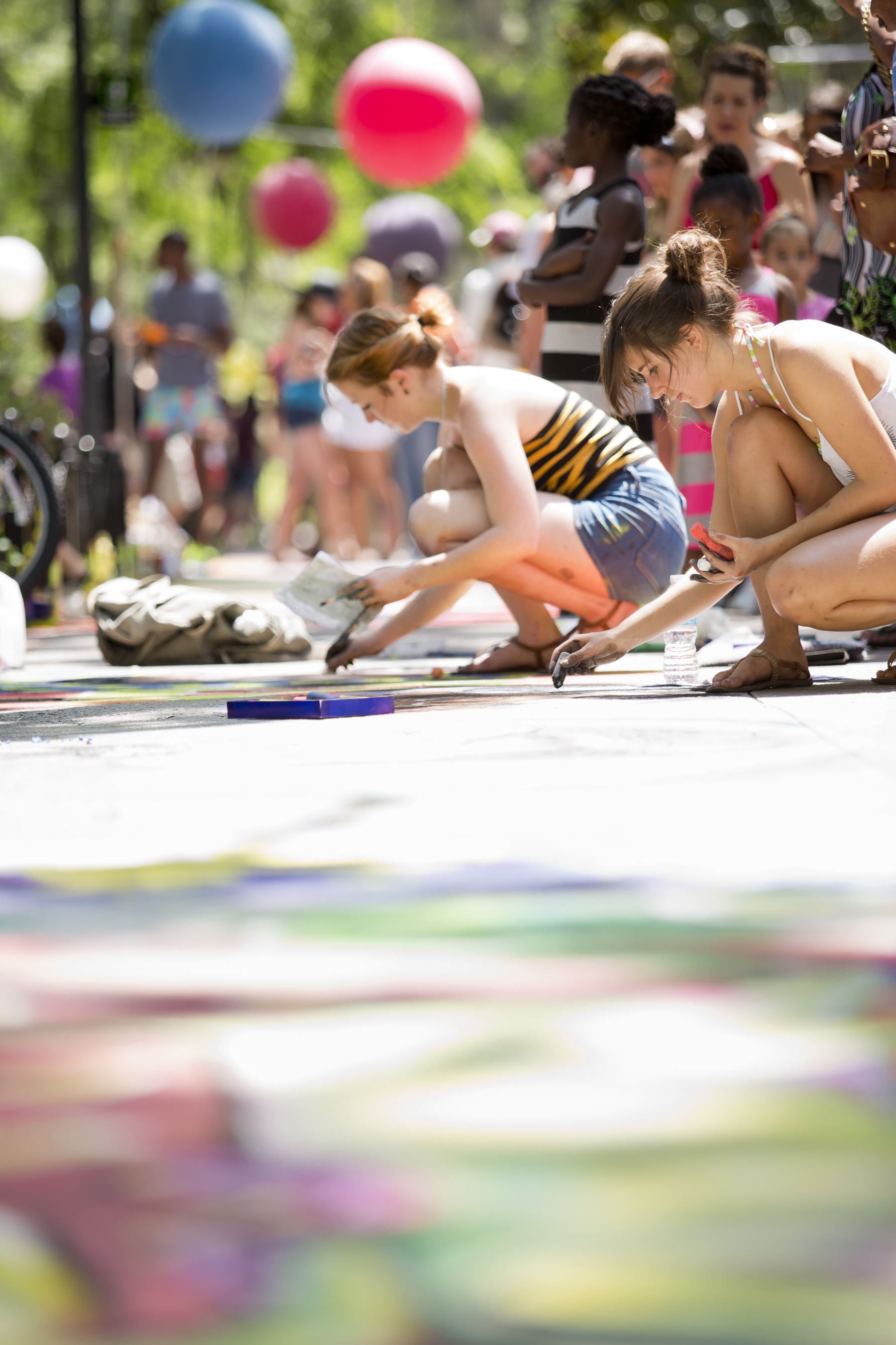 SCAD Hosts 2014 Sidewalk Arts Festival, 4/26