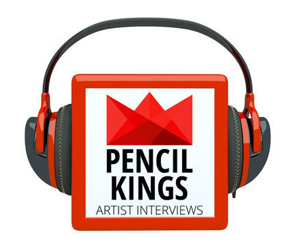 Pencil Kings Launches New Art Podcast for Aspiring Artists