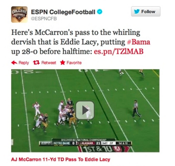 Ooyala Delivers In-Stream Video Viewing on Twitter - First up ESPN