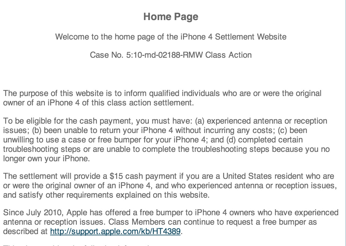 Las Vegas Man Sues Apple, Wins, Sets Up Web Site?