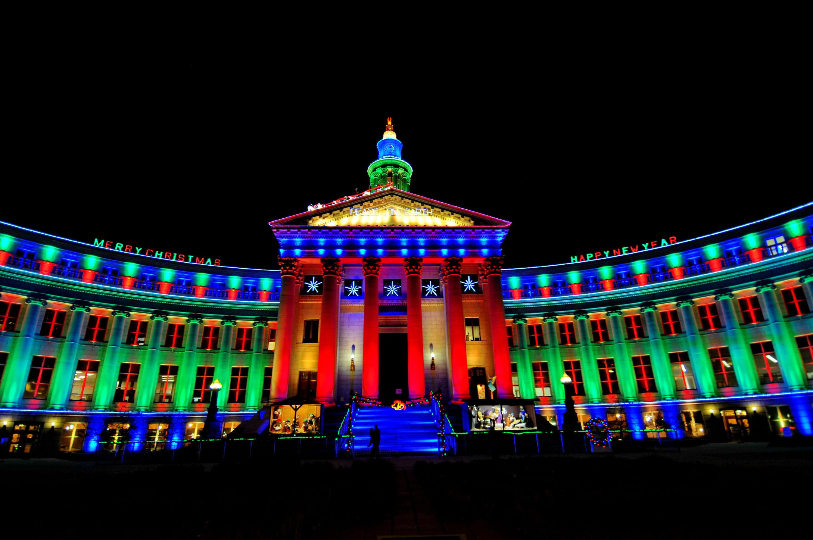 Denver Is A Winter Weekend Wonderland During Mile High