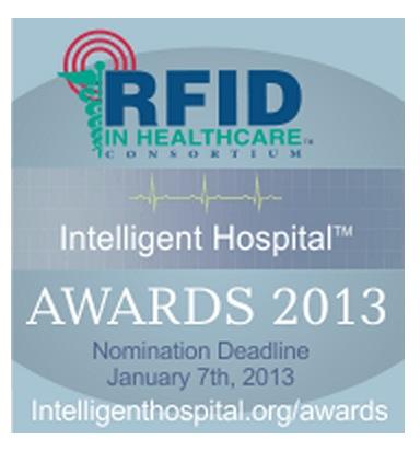 The RFID in Healthcare Consortium Announces Intelligent Hospital Award Recipients