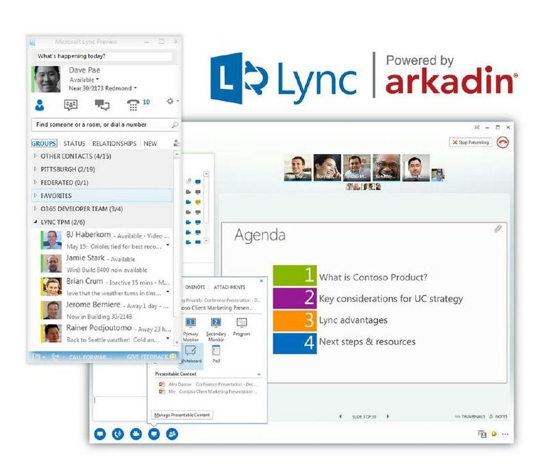 Arkadin Announces Strategic Move Into Unified Communications With Microsoft Lync Powered by Arkadin