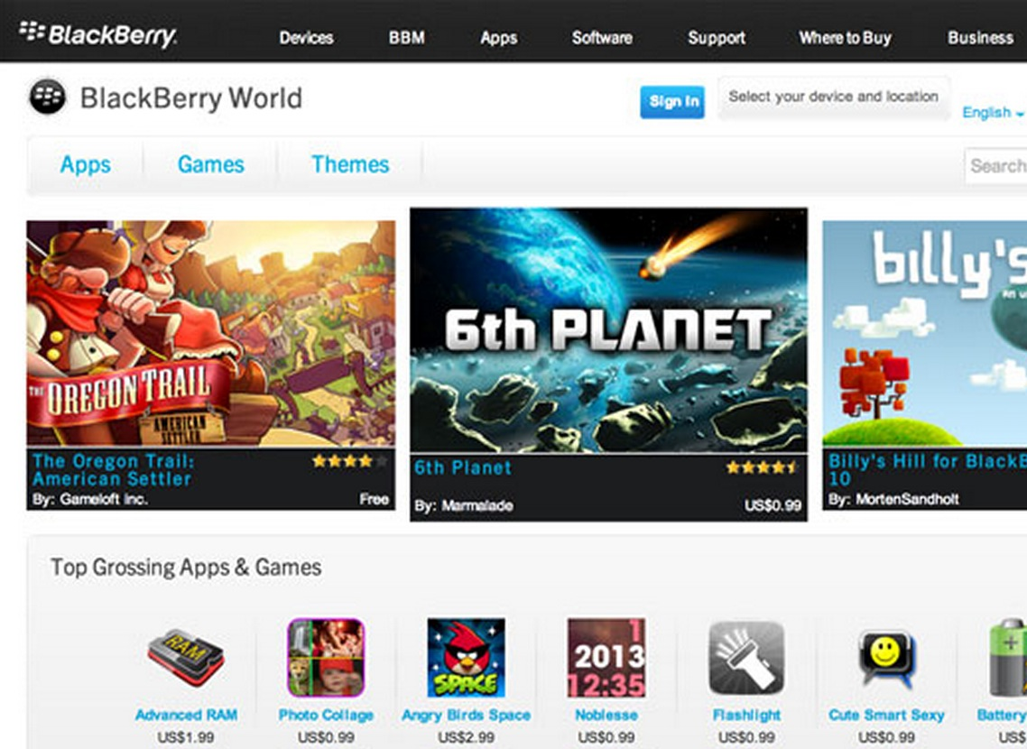 BlackBerry World 10 to Launch With Songs, Latest Movies and TV Shows