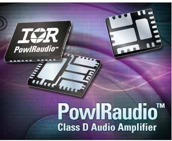 IR Expands PowIRaudio Family of Integrated Power Modules with the Introduction of 40V IR4311M and IR4312M