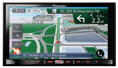 Pioneer Reveals 3 New Touchscreen Dashboard Receivers