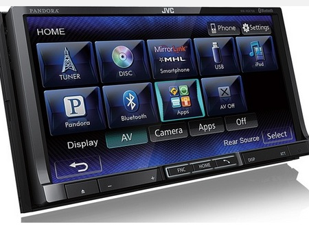 JVC Launches Mirrorlink Head Units at CES