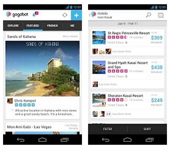 Gogobot Launches Android App