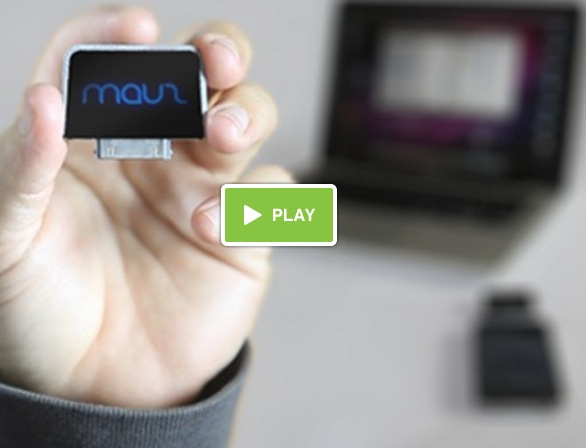 Mauz, First Appcessory to Turn iPhone into Motion & Visual Gesture-Controlled Wireless Mouse – Launches Kickstarter Campaign for $150K