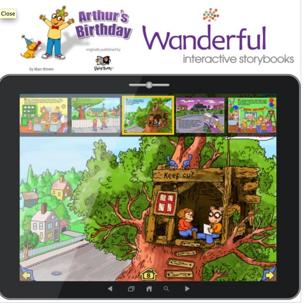Wanderful Introduces the Interactive Storybook 'Arthur's Birthday' for iOS