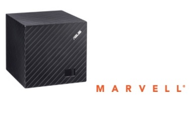 Marvell and ASUS Team Up to Deliver the High-Performance and Energy-Ffficient Qube with Google TV Media Streamer