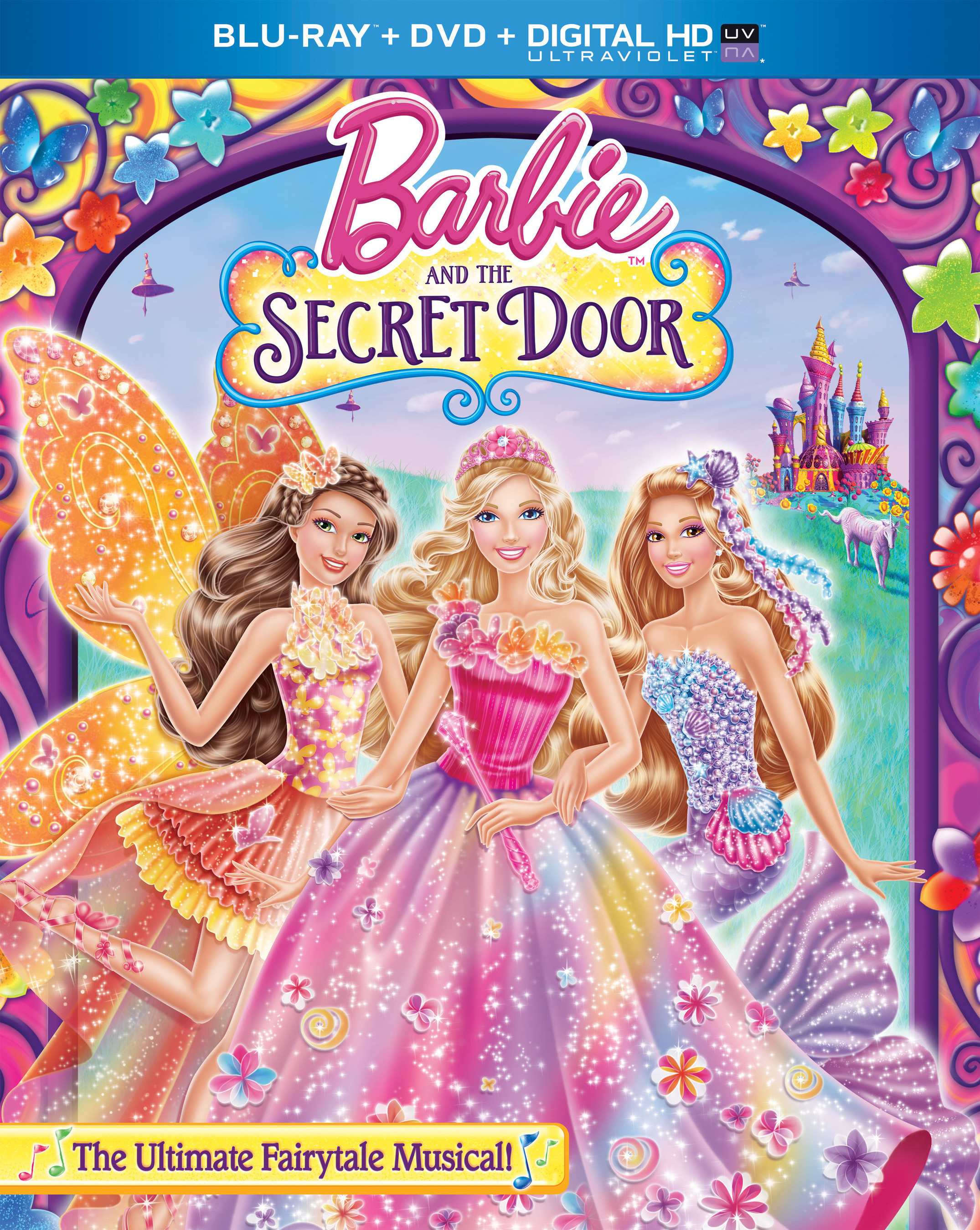 BARBIE AND THE SECRET DOOR Coming to Blu-ray/DVD & Digital HD, 9/16