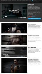 Pixel Film Studios Announces Release of  New Template 'Incognito Theme'