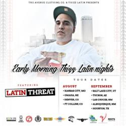 'Early Morning Thizz Latin Nights' Tour Promotes Underground Hip-Hop Artist Network