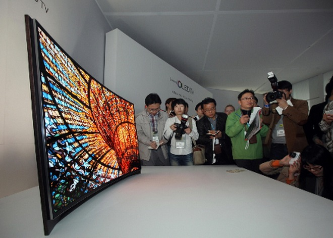 Wow! Samsung Introduces World's First Curved OLED TV at CES 2013