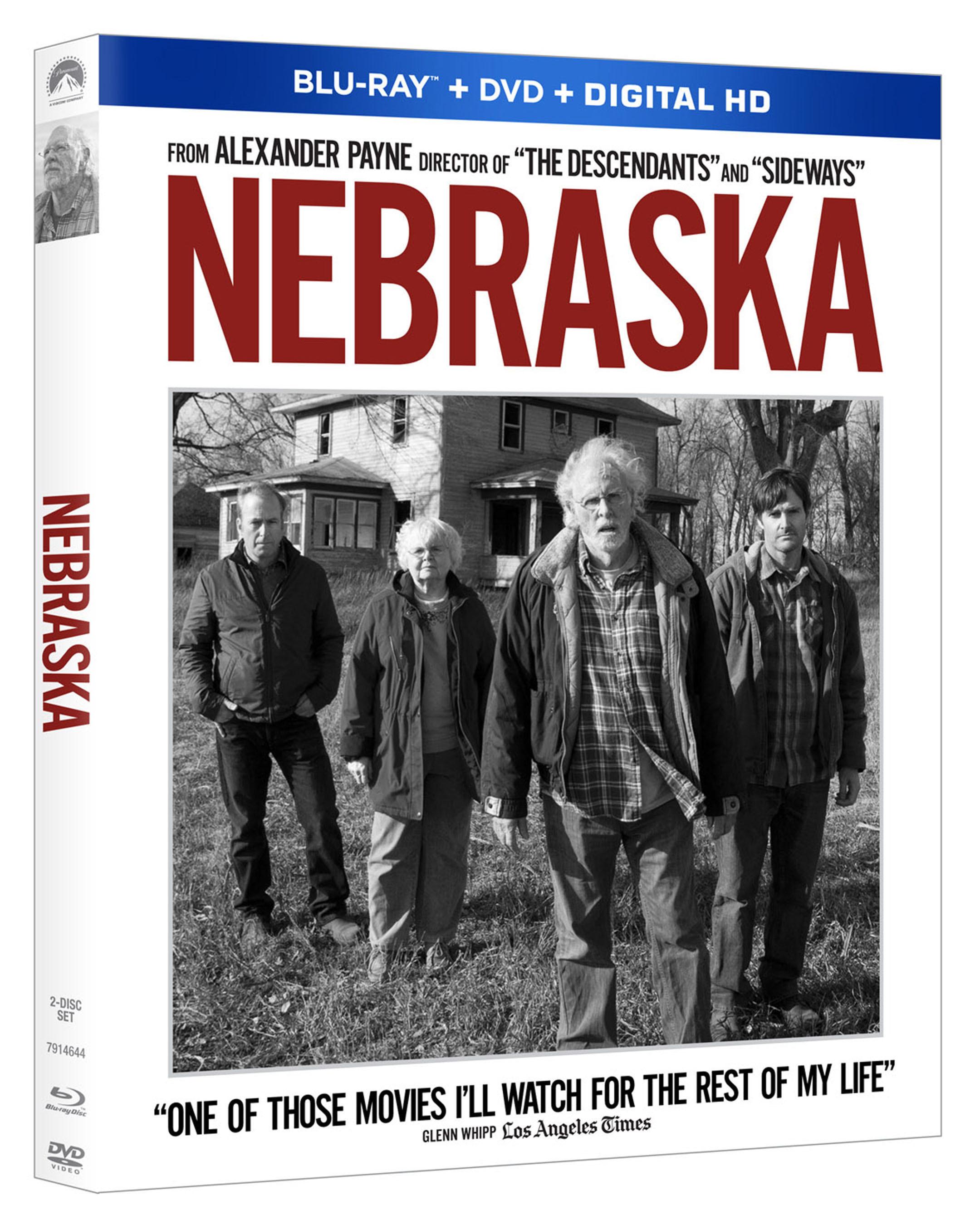 Best Picture Nominee NEBRASKA Debuts on Blu-ray Combo, 2/25