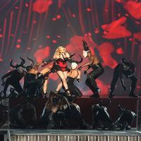 VIDEO: Madonna Performs 'Living for Love' at GRAMMYS