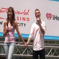 BWW TV: THE FANTASTICKS Performs at Broadway in Bryant Park 2012!