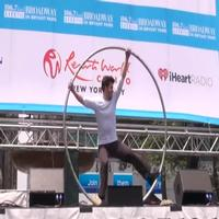 BWW TV: TRACES Performs at Broadway in Bryant Park 2012!