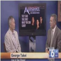 STAGE TUBE: George Takei Talks ALLEGIANCE on San Diego 6