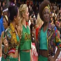 STAGE TUBE: Cast of BRING IT ON Performs 'I Got You' at Macy's Parade!