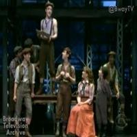 STAGE TUBE: Cast of NEWSIES Performs in Macy's Day Parade CBS Broadcast!