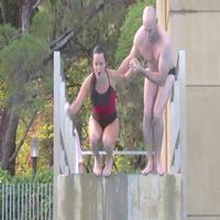 VIDEO: Celebs Flop, Flail in New STARS IN DANGER: THE HIGH DIVE Promo