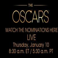 STAGE TUBE: Watch the Oscars Nominations LIVE Online This Morning