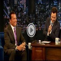 VIDEO: Arnold Schwarzenegger Visits NBC's JIMMY FALLON