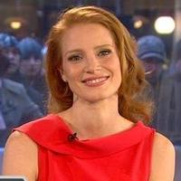 VIDEO: Jessica Chastain Wants to Show Off Her Golden Globe on TODAY